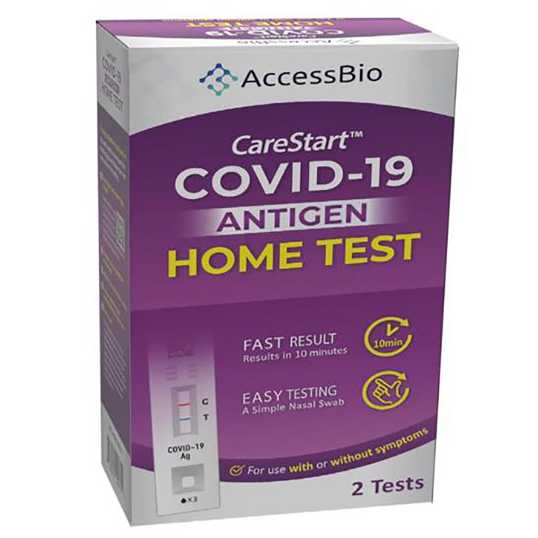 CareStart Rapid Covid Test
